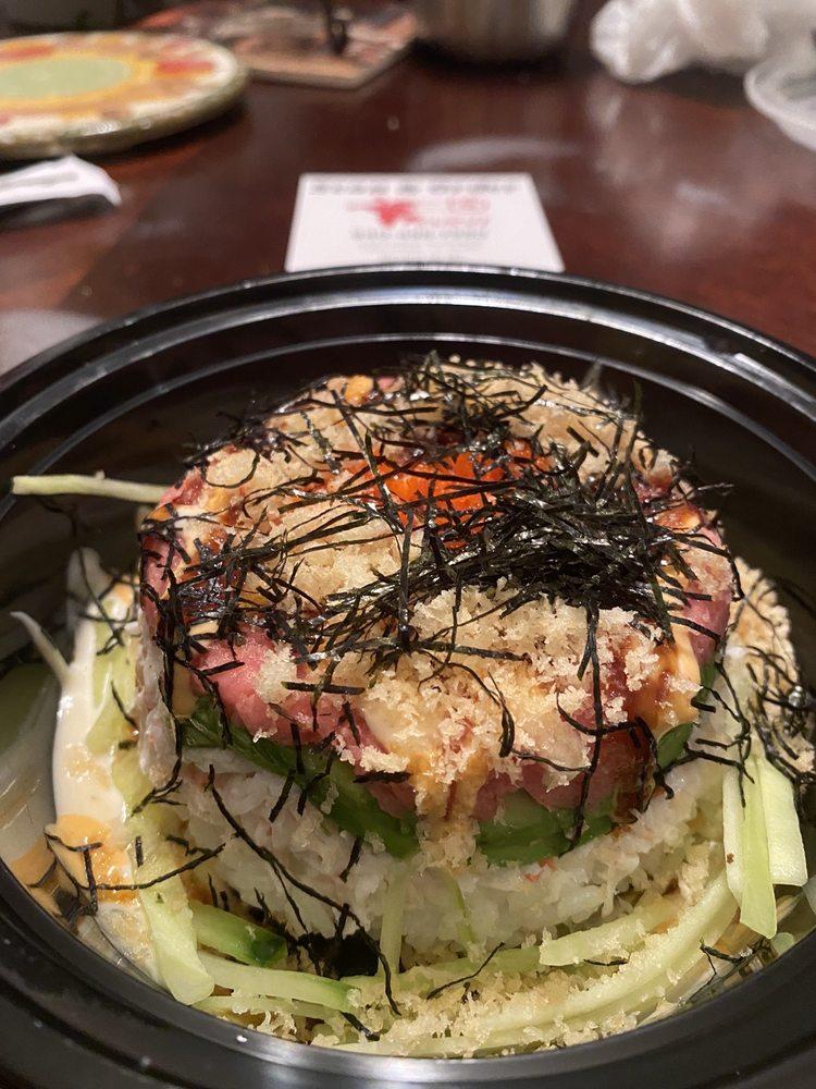 Sushi Q: 303 Swisher Rd, Lake Dallas, TX