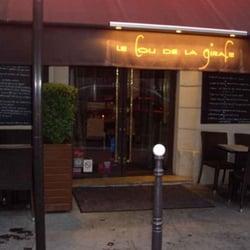 le cou de la girafe ferm 11 avis fran ais 7 rue paul baudry 8 me paris restaurant. Black Bedroom Furniture Sets. Home Design Ideas