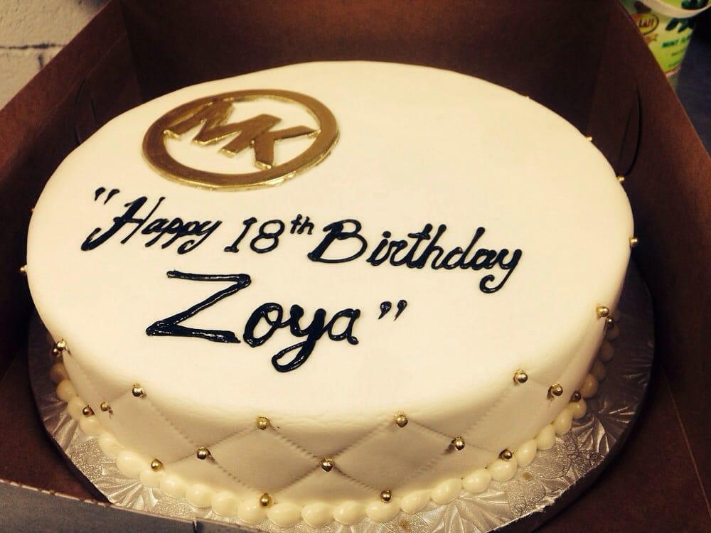 My Mk Birthday Cake Yelp