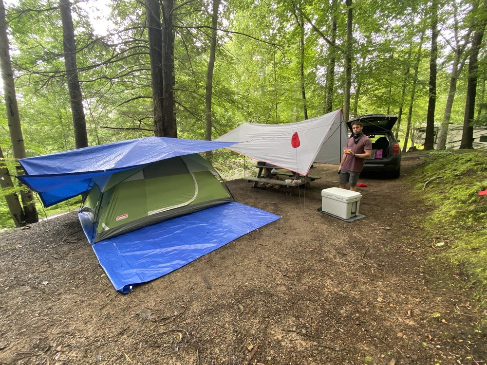 Rifrafters Campground: 448 Laurel Creek Rd, Fayetteville, WV