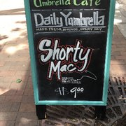 Photo Of Umbrella Cafe Pittsburgh Pa United States Sign Outside Post Daily