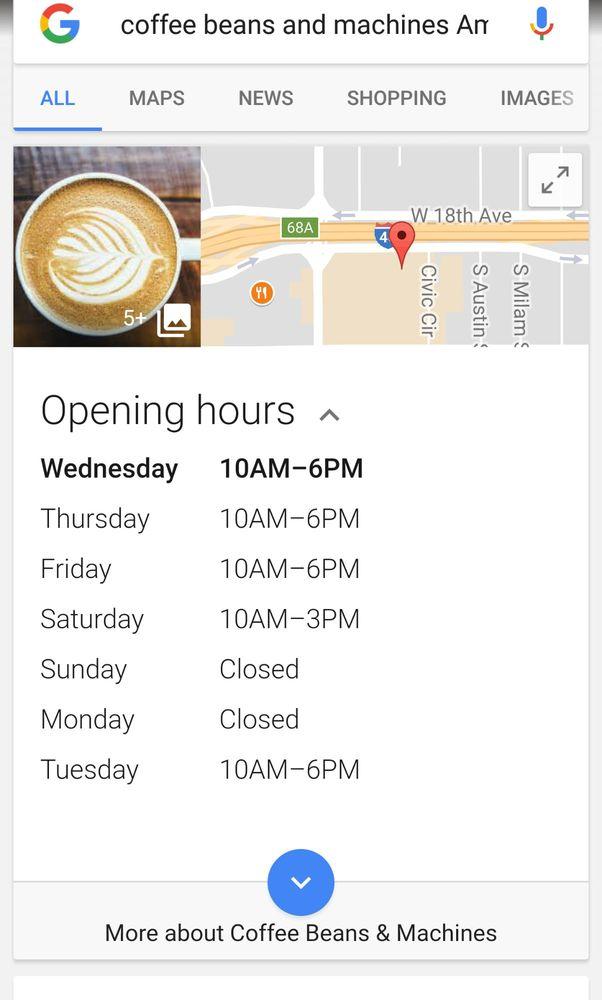 Coffee Beans & Machines: 2431 Wolflin Sq, Amarillo, TX