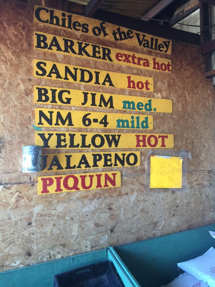Rosales Produce: 26 Highway 408, Escondida, NM
