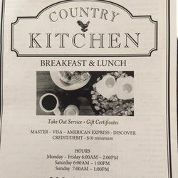 Photo Of Country Kitchen East Haven Ct United States Hours M