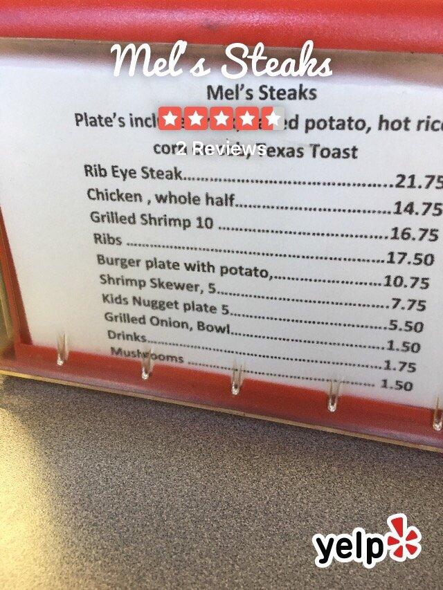 Mel's Steaks: 8610 N Cole St, Harrisburg, AR