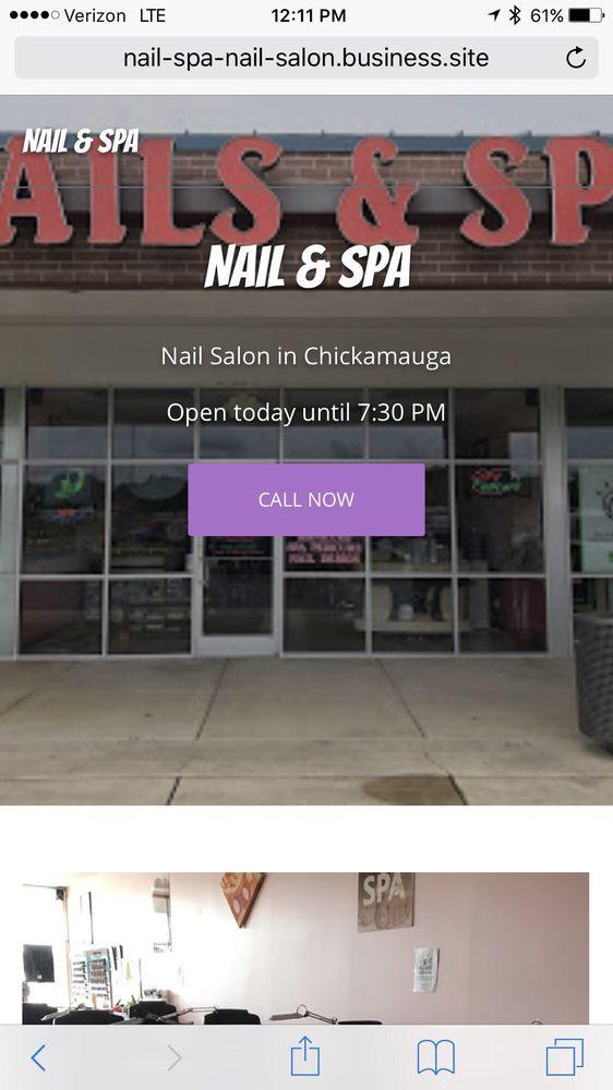 Nails & Spa: 13311 N Highway 27, Chickamauga, GA
