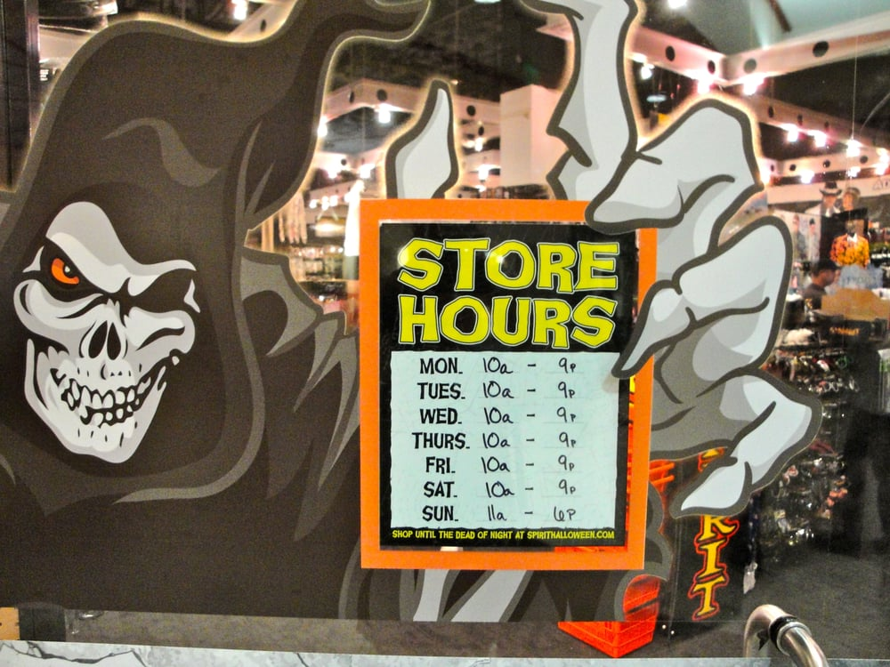 Complete Spirit Halloween Store Locator. List of all Spirit Halloween locations. Find hours of operation, street address, driving map, and contact information.