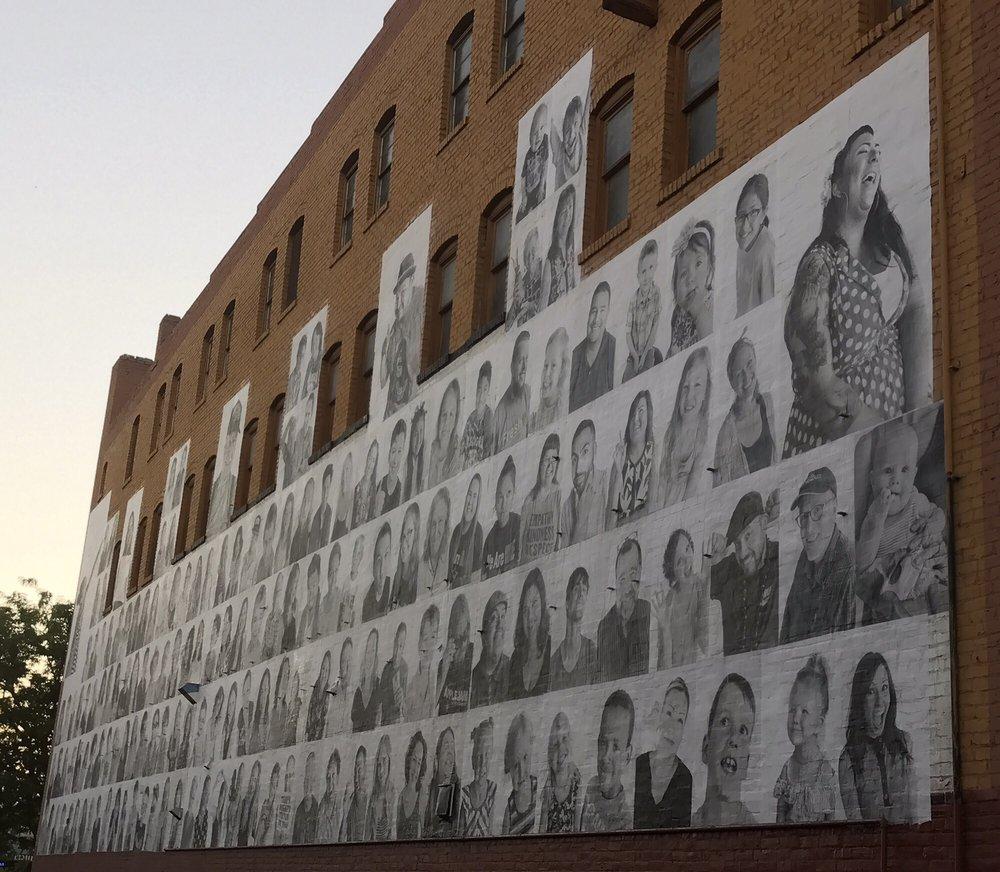 Inside Out Art Wall: S 3rd St, Yakima, WA