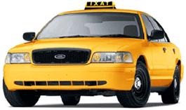 San Francisco Airport Taxi Cab