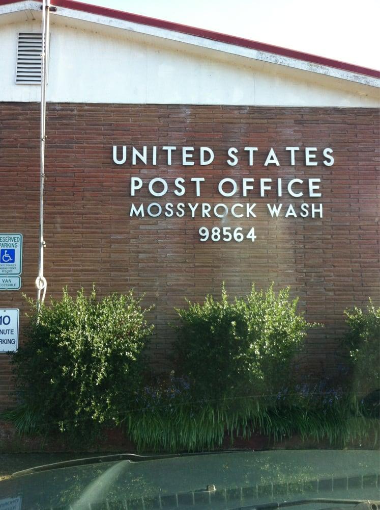 US Post Office: 243 E Main, Mossyrock, WA