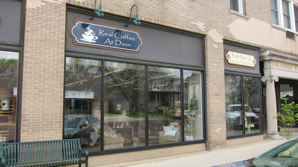 Real Coffee: 25 W Main St, Evansville, WI