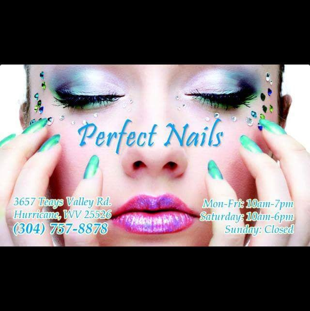 Perfect Nails: 3657 Teays Valley Rd, Hurricane, WV