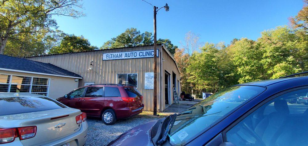 Eltham Auto Clinic: 18430 Eltham Rd, West Point, VA