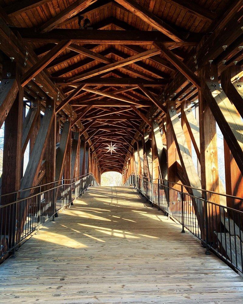 Old Salem Heritage Bridge: The Strollway, Winston-Salem, NC