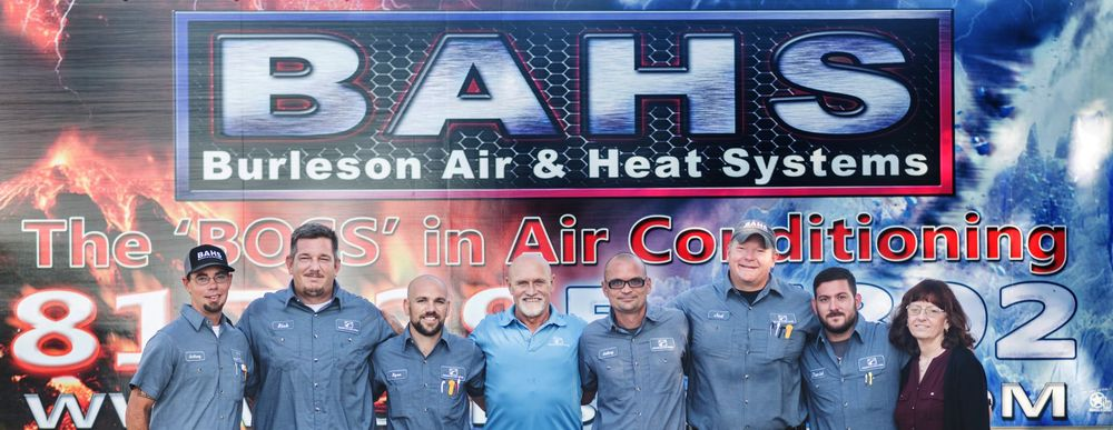 Burleson Air & Heat Systems: 116 SW Haskew St, Burleson, TX