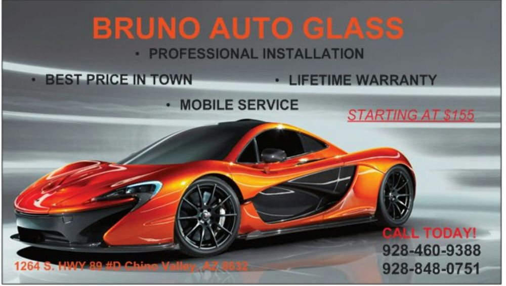 Bruno Auto Glass: 1962 Az-89, Chino Valley, AZ