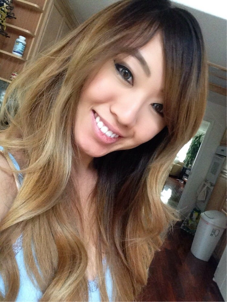 Dark ash blonde/ light brown ombré balayage - Yelp