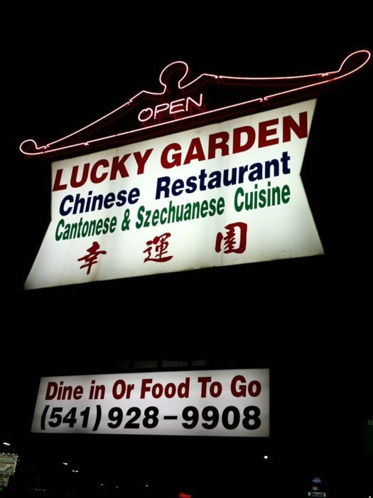Lucky Garden Closed Chinese 2845 Santiam Hwy Se Albany Or United States Restaurant