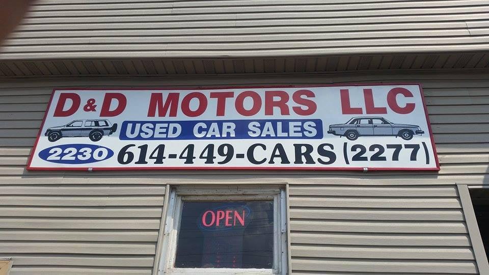 D D Motors Llc Car Dealers 2230 Lockbourne Rd