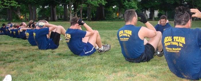 SEAL Team Physical Training