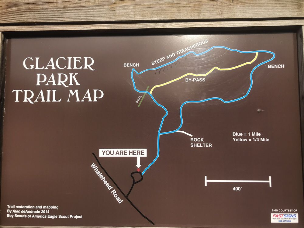 Glacier Park - Boulder Train: Whalehead Rd, Ledyard, CT