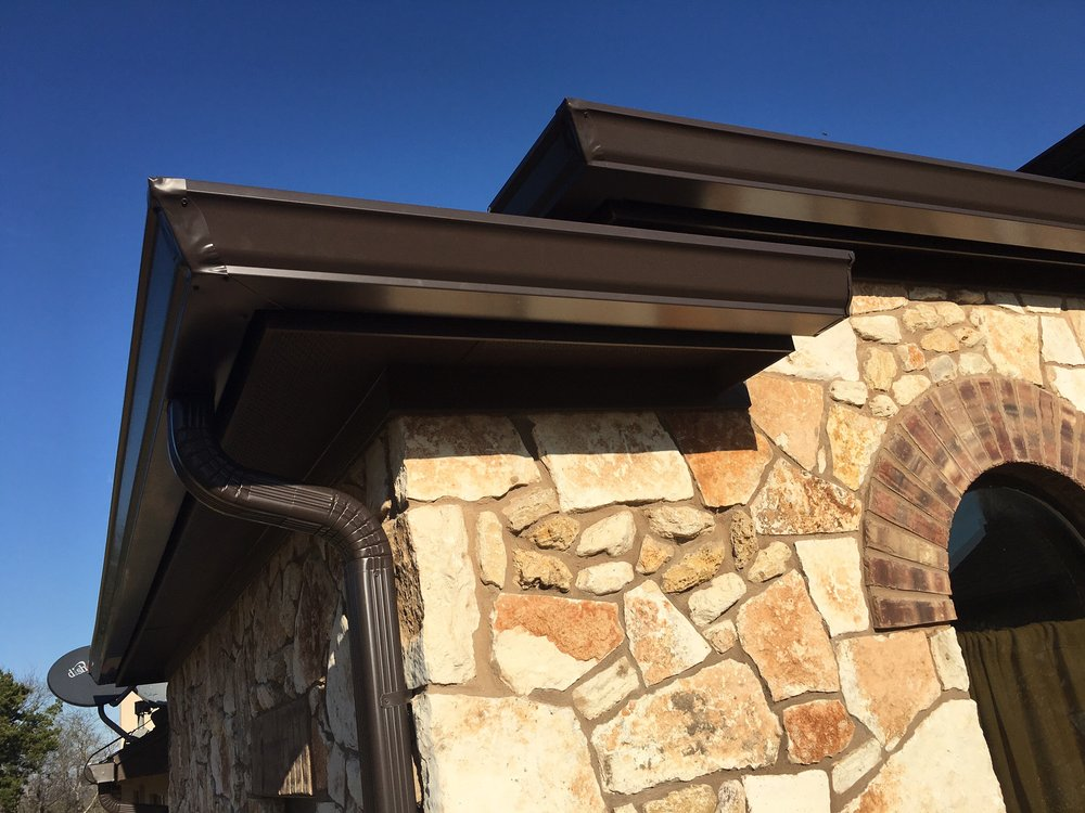 Quality Seamless Gutters: 2718 Gillmeister Ln, Temple, TX