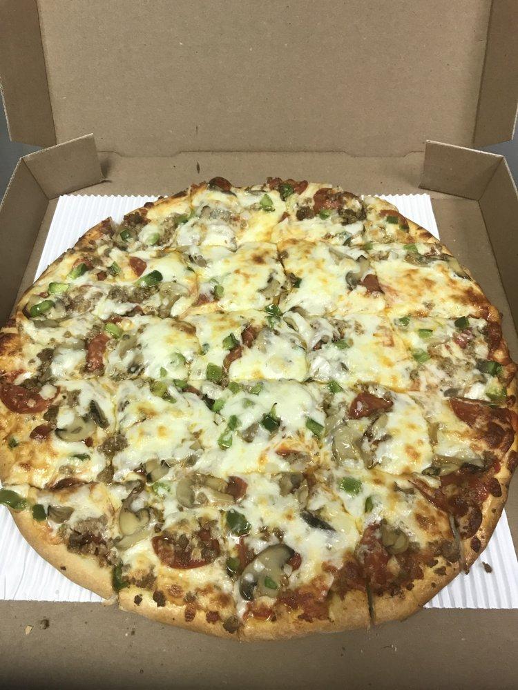 Ferrari's Pizza: 24 N High St, Covington, OH
