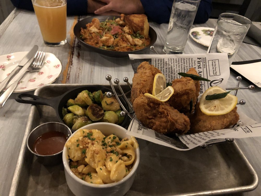 Appetizers at The Cuckoo's Nest in Albany New York
