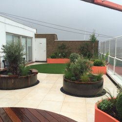 Superbe Photo Of Custom Garden Planters   London, United Kingdom
