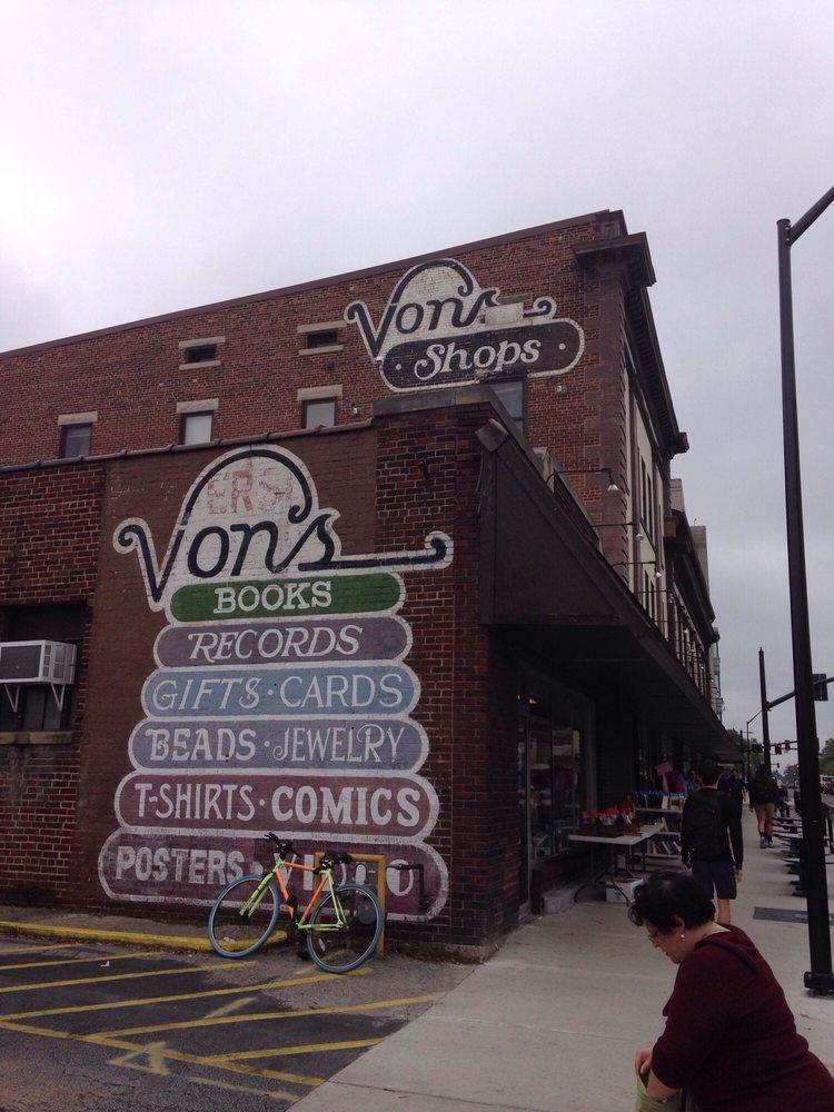 Von's Shop: 317 W State St, West Lafayette, IN