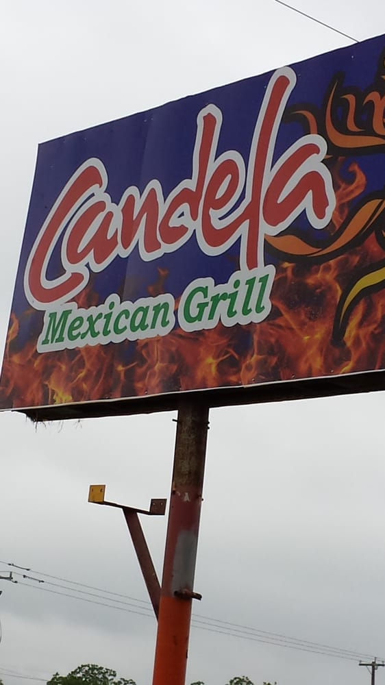 Food from Candela's Mexican Grill