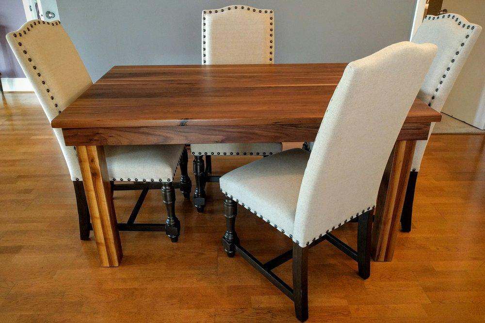Rustic + Modern Handcrafted Furniture