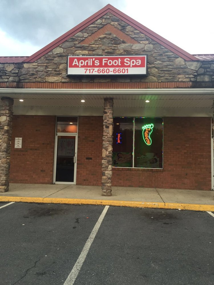 April's Foot Spa: 116 S Antrim Way, Greencastle, PA