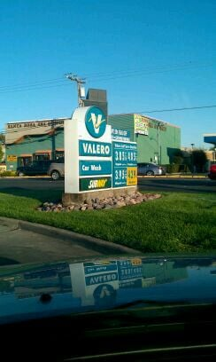 Coddingtown Valero & Subway