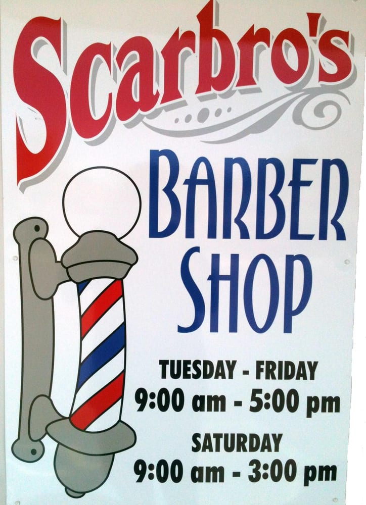 Scarbro's Barber Shop: 512 Central Ave W, Great Falls, MT