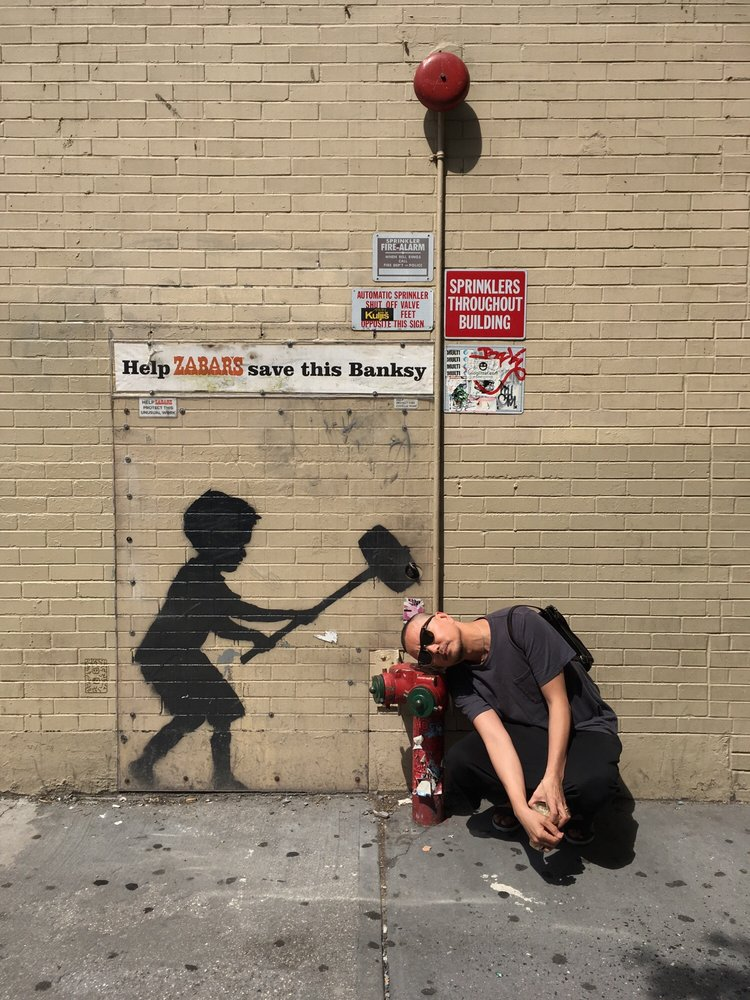 Banksy Better Out Than In #20: W 79th St, New York, NY