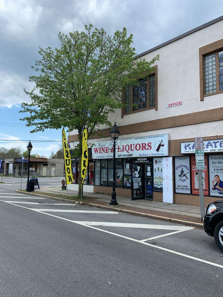 Main Street Wine & Liquor: 273 W Main St, Bay Shore, NY