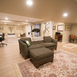 Great Photo Of Finished Basements Plus   Wixom, MI, United States. Light Colored  Wood Design Ideas