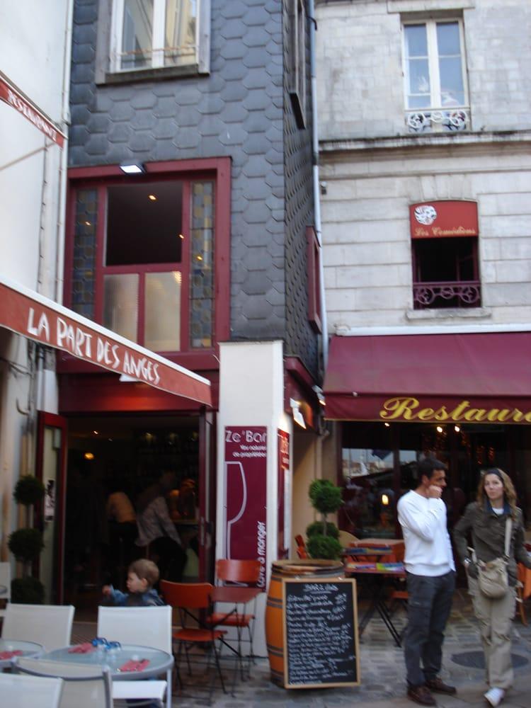 Ze bar 20 beitr ge restaurants 13 bis rue cha ne la for O miroir la rochelle