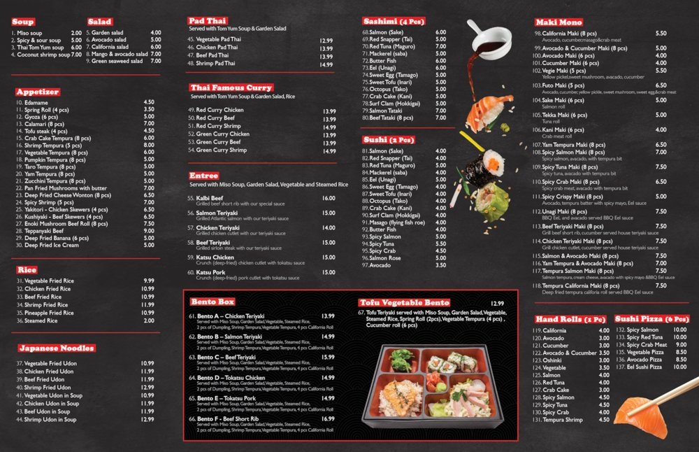 Takeout Menu Side A Yelp