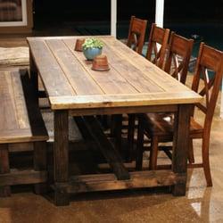 Photo Of Ryanu0027s Rustic Garage   Brea, CA, United States. Classic Farm Table