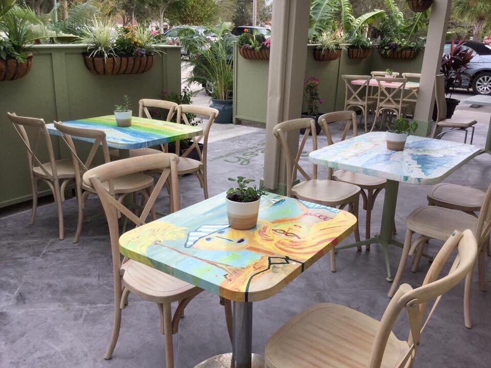 Photo Of Fresh Organic Restaurant   Vero Beach, FL, United States. Outside  Patio