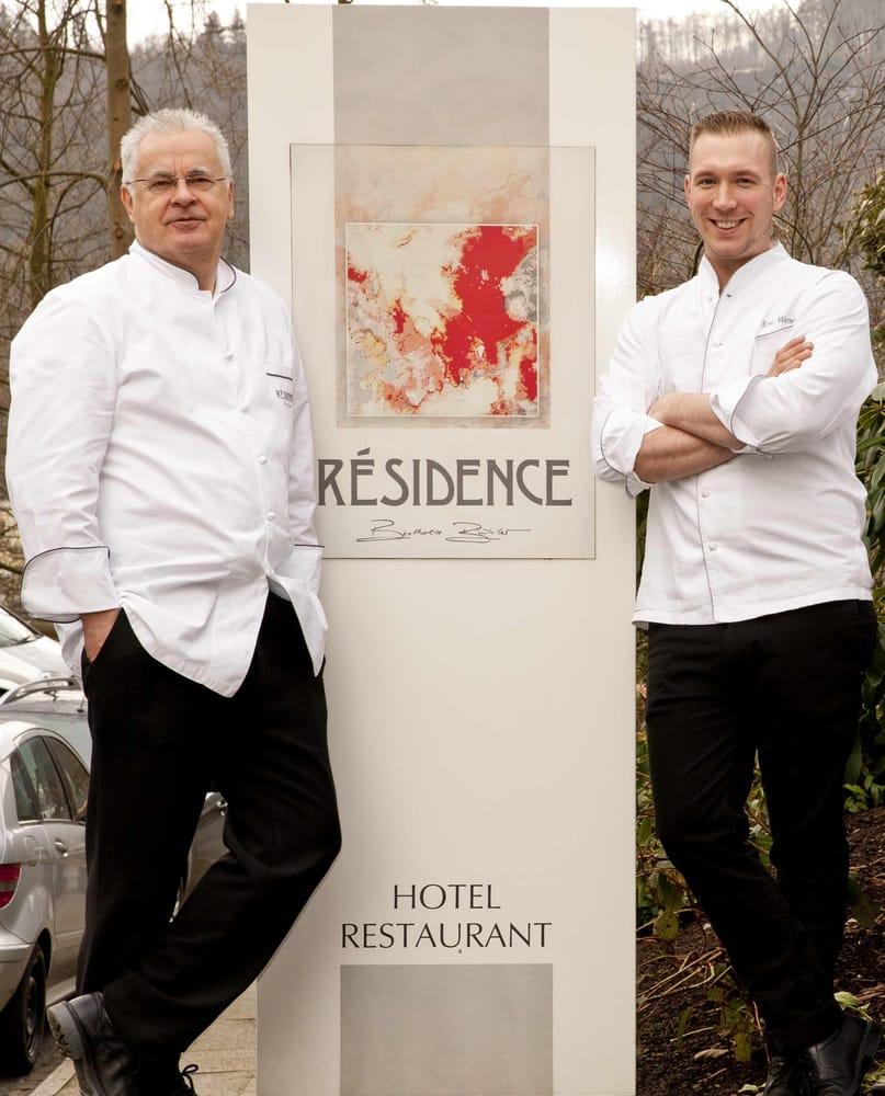 Résidence-Patron Berthold Bühler & Küchenchef Eric Werner - Yelp