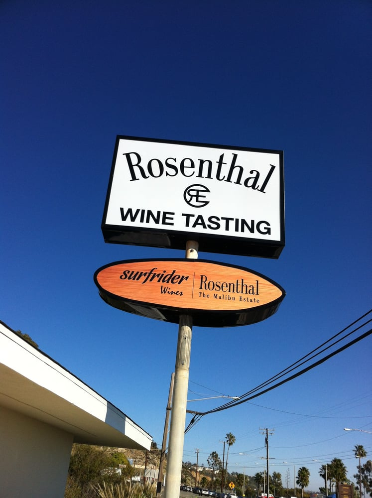 New Tasting Room Sign On Pch Yelp