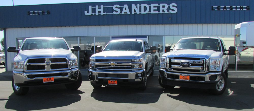 JH Sanders Sales & Leasing: 41453 Ave 14 1/2, Madera, CA