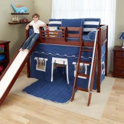 Photo Of Kiddie World   Paramus, NJ, United States. Maxtrix Mid Loft Bed