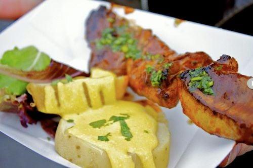 Peruvian Food Anticuchos