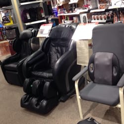 brookstone massage chair. photo of brookstone - houston, tx, united states. i was surprised that every massage chair