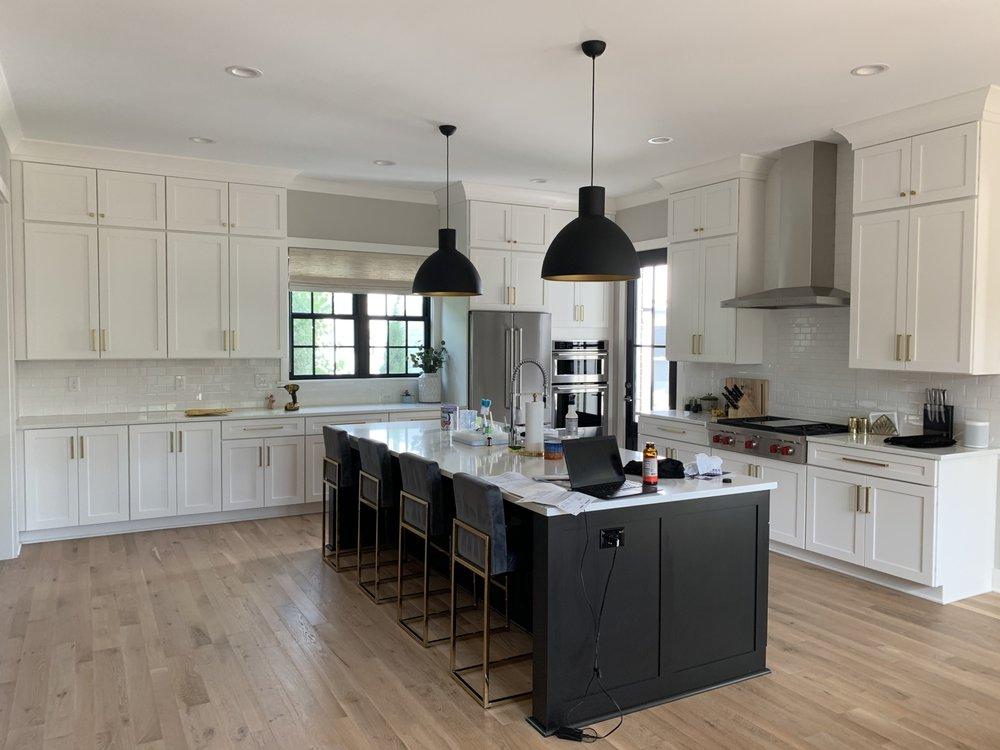 Stunning Wellborn Two Tone Kitchen! - Yelp