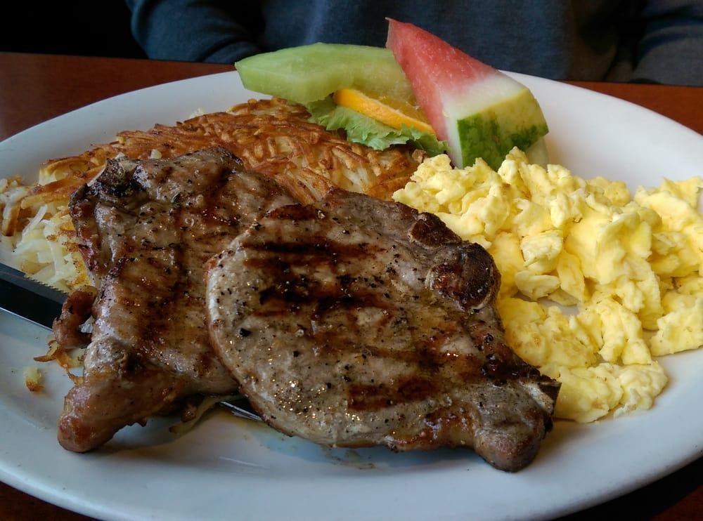 Pork Chops And Scrambled Eggs Yelp